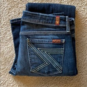 7 For All Mankind Flynt Bootcut Jeans Size 29